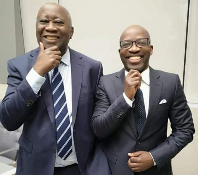 Gbagbo et Ble Goude CPI
