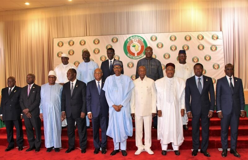 Heads of States and Government of  ECOWAS